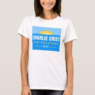 Camiseta Governador 2014 de Charlie Crist Florida
