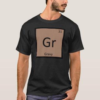 Camiseta GR - Mesa periódica da química do condimento do
