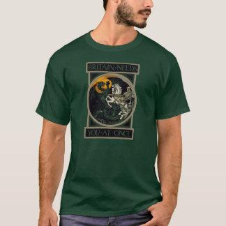 Camiseta Grâ Bretanha precisa-o imediatamente com St George