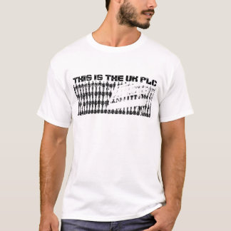 Camiseta Grâ Bretanha real, ESTA É O PLC do Reino Unido