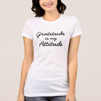 Camiseta Graditude é minhas mulheres da atitude