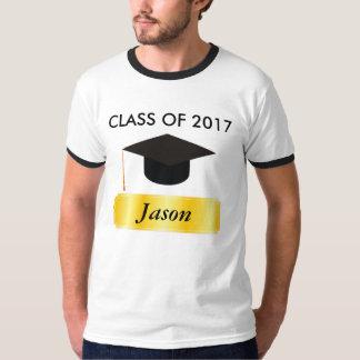 Camiseta Graduação do Tag do ouro