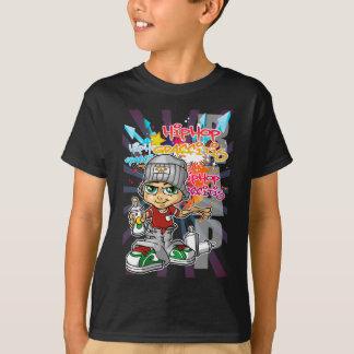 Camiseta Graffiti boy and contexto