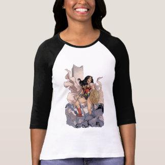 Camiseta Gráfico cómico do cobrir #13 da mulher maravilha