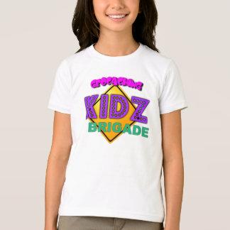 Camiseta Gráfico da brigada do Geocaching Kidz das crianças