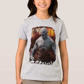 Camiseta Gráfico da silhueta de Azog & de Orcs
