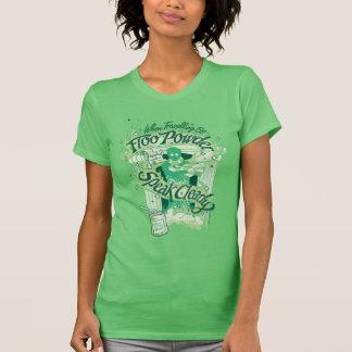 Camiseta Gráfico da tipografia do pó de Harry Potter | Floo