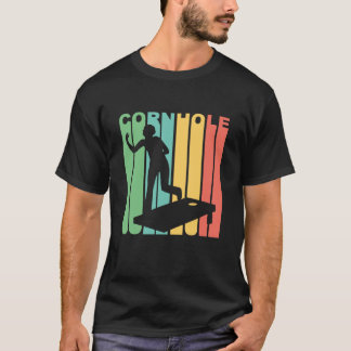 Camiseta Gráfico de Cornhole do vintage