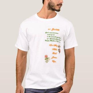 Camiseta Gráfico do dia das mães para a parte dianteira das