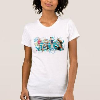 Camiseta Gráfico do molde da academia da dança