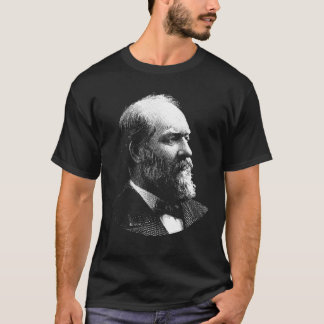 Camiseta Gráfico do presidente James Garfield