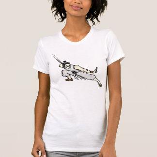 Camiseta gráfico do samurai