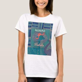 Camiseta Gráfico engraçado feminino bonito de surpresa