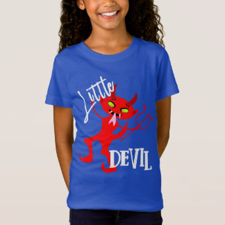 Camiseta Gráfico engraçado pequeno bonito do diabo vermelho