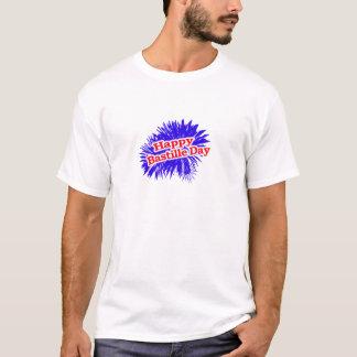Camiseta Gráfico feliz do dia de Bastille
