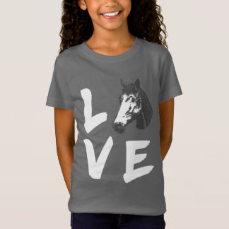 Camiseta Gráfico Horsey dos amantes do cavalo