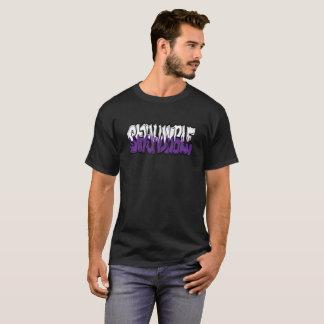 Camiseta Gráfico humilde do estilo da arte da rua do