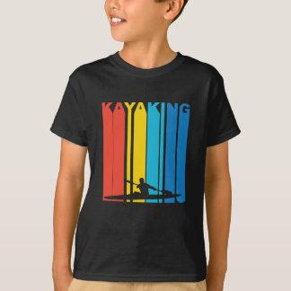 Camiseta Gráfico Kayaking do vintage