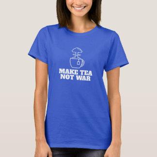 Camiseta Gráfico legal e tipo do chá da revolução do