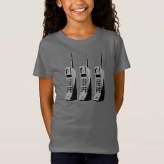 Camiseta Gráfico retro do telefone móvel