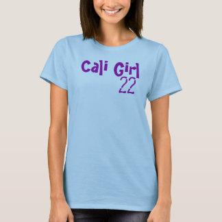 Camiseta Gráfico T da menina de Cali