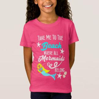 Camiseta Gráfico temático do slogan da praia bonito da