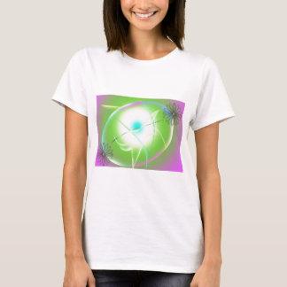 Camiseta gráficos abstratos