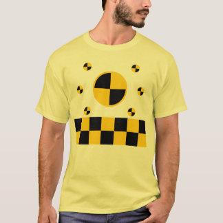 Camiseta Gráficos dos marcadores do teste do impacto