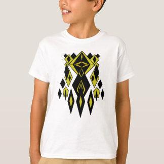 Camiseta Gráficos estrangeiros do robô do ouro