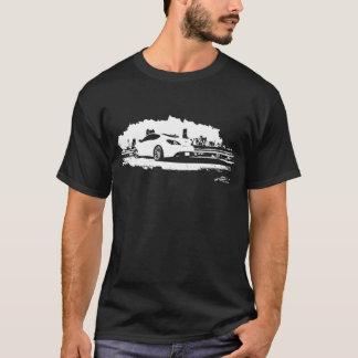 Camiseta Gráficos preto e branco do cupé da génese