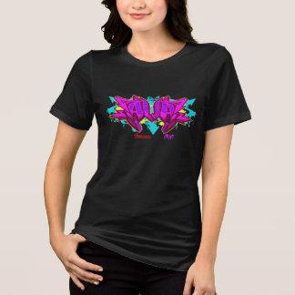Camiseta Grafites da menina: Ava Streetwear