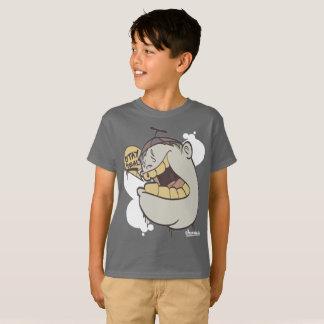 Camiseta Grafites dos miúdos: Caráter real Streetwear da