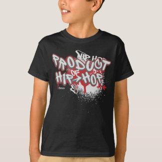 Camiseta Grafites dos miúdos: Produto de Hip Hop Streetwear