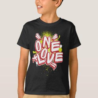 Camiseta Grafites dos miúdos: Um amor Streetwear