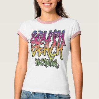 Camiseta Grafites sul da praia