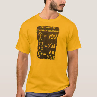 Camiseta Gramática do sul