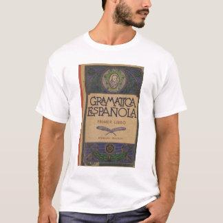 Camiseta Gramatica México impresso Espanola 1949
