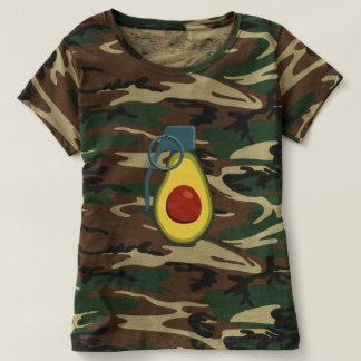 Camiseta Granada 1 do abacate de Camo - mulheres