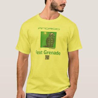 Camiseta Granada App do texto