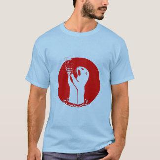 Camiseta Granada de mão da lontra de mar