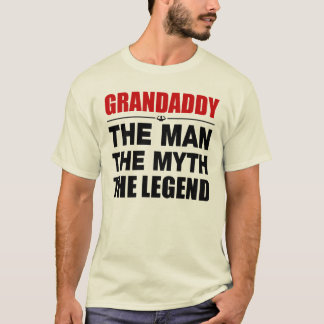Camiseta Grandaddy o homem o mito a legenda