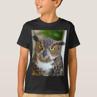 Camiseta Grande coruja Horned