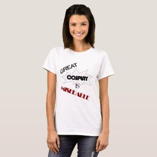 Camiseta Grande Cosplay é miserável - prisioneiro de guerra