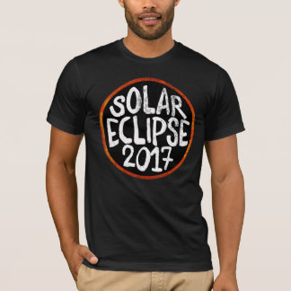 Camiseta Grande eclipse solar 2017 21 de agosto de 2017