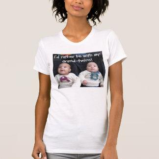 Camiseta Grande-gêmeos