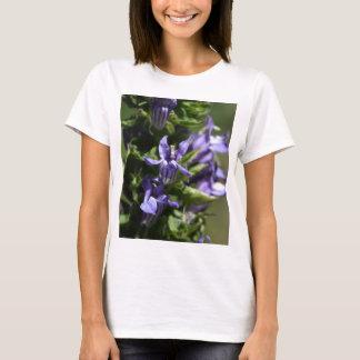 Camiseta Grande Lobelia azul (siphilitica do Lobelia)