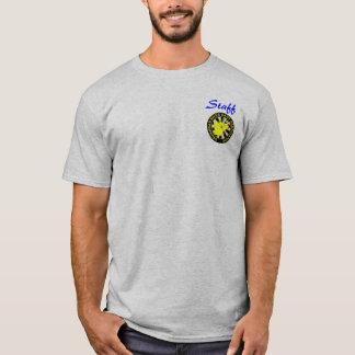 Camiseta grande logotipo do srda, funcionarios