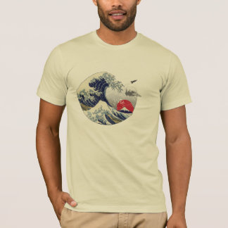 Camiseta Grande onda