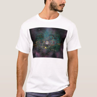 """Camiseta Grande t-shirt adulto das """"constelações"""""""
