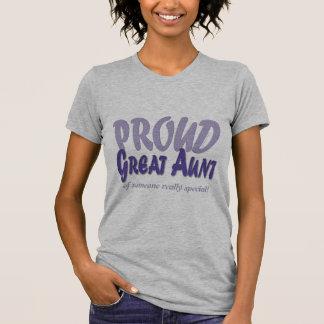 Camiseta Grande tia orgulhosa - personalize-o